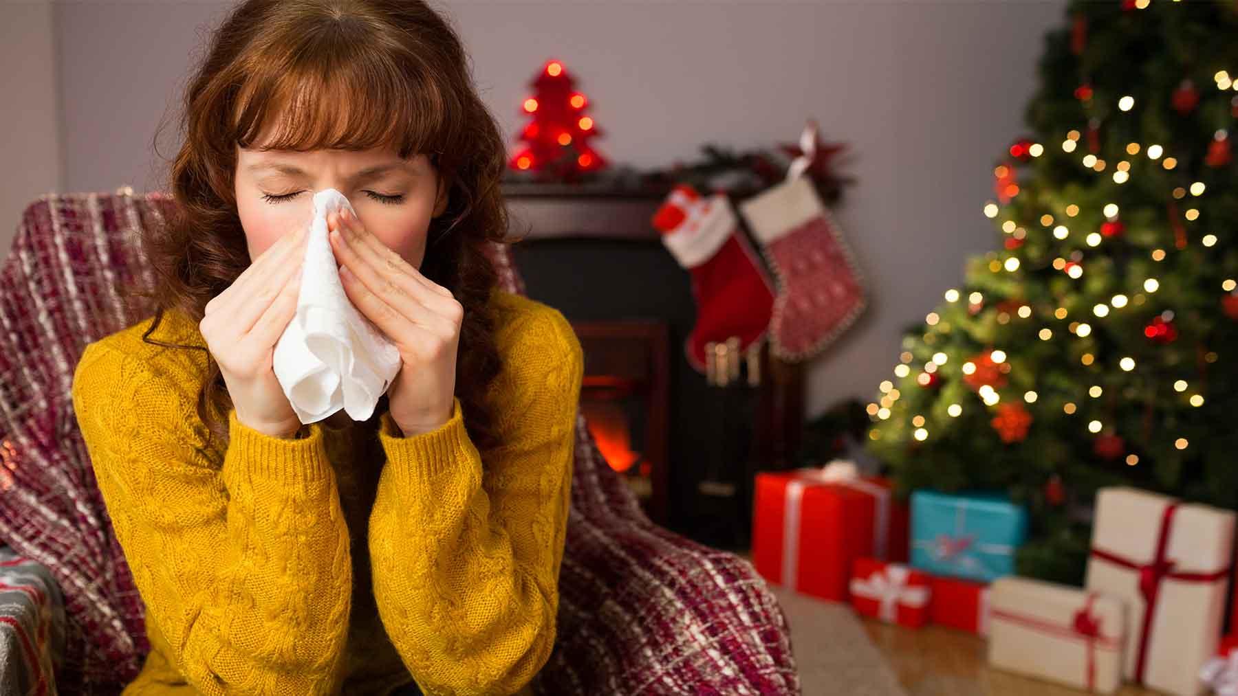 Аллергия на новогоднюю елку. Новый год без неприятных сюрпризов.