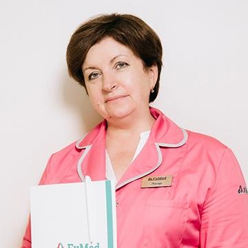 Лікар клініки FxMed Опаренко Ірина Іванівна
